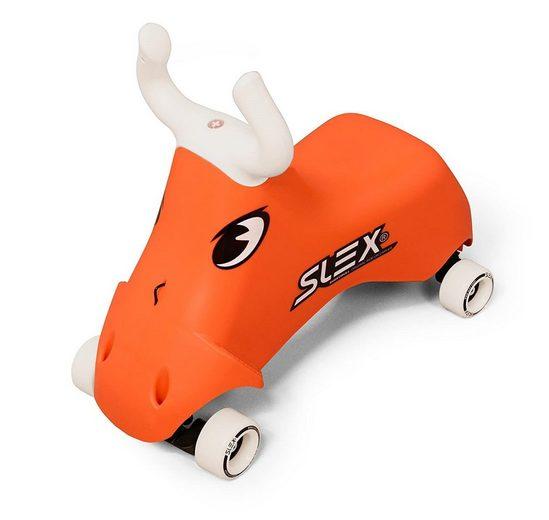 SLEX Rutschauto »RodeoBull Rutschfahrzeug Kinder Rutschauto ABEC 3 Longboard Rollen bis 35kg«, Belastbarkeit 35,00 kg, Rutschhemmende Fußablage, Lenkung erfolgt durch Gewichtsverlagerung