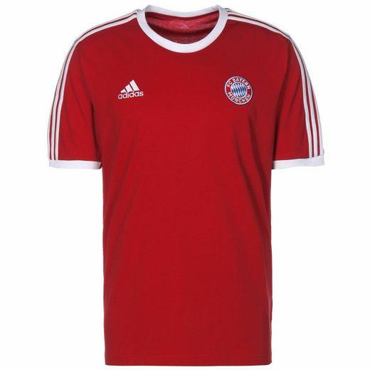 adidas Performance T-Shirt »Fc Bayern München 3-Streifen«