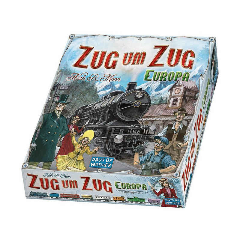 Asmodee Spiel, »Zug um Zug - Europa«