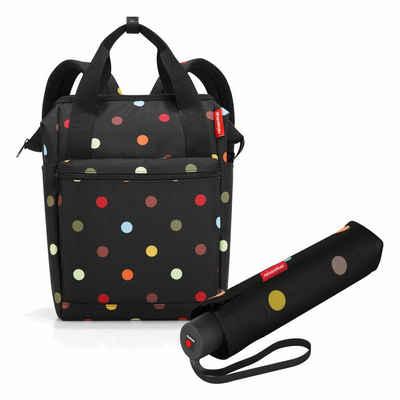 REISENTHEL® Reisetasche »allrounder R Set Dots« (Set, 2-tlg), mit umbrella pocket classic