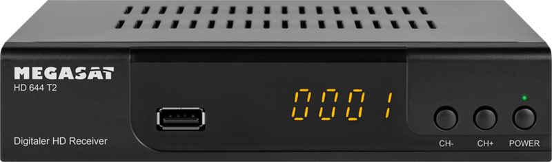 Megasat »HD 644 T2« DVB-T2 HD Receiver (DVB-T2 HD free to Air)