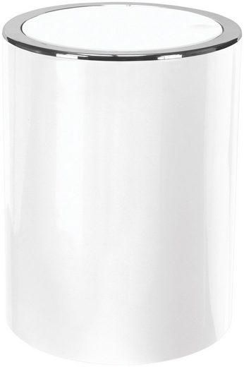 KLEINE WOLKE Schwingdeckel-Abfalleimer »Clap«, Extra klein, 1,5 Liter