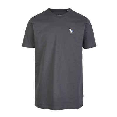 Cleptomanicx T-Shirt »Embro Gull - blue graphite«