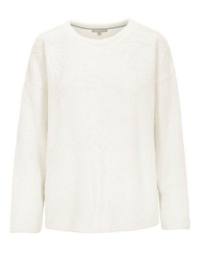 BASEFIELD Sweatshirt mit flauschiger Oberfläche