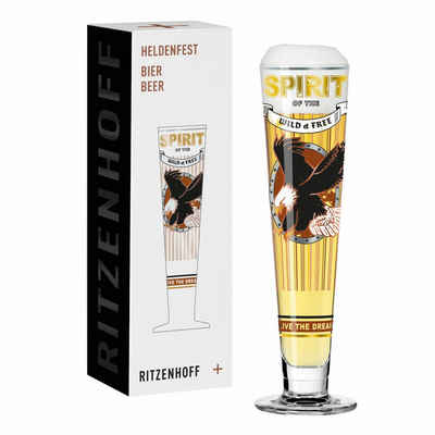 Ritzenhoff Bierglas »Heldenfest Bier 007«, Kristallglas, Made in Germany
