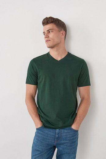 Next T-Shirt »T-Shirt mit V-Ausschnitt« (1-tlg)