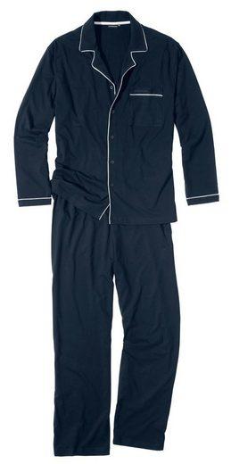 GÖTZBURG Pyjama Oberteil geknöpft
