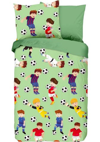 good morning Kinderbettwäsche »Go« su Fußball-Motiv...