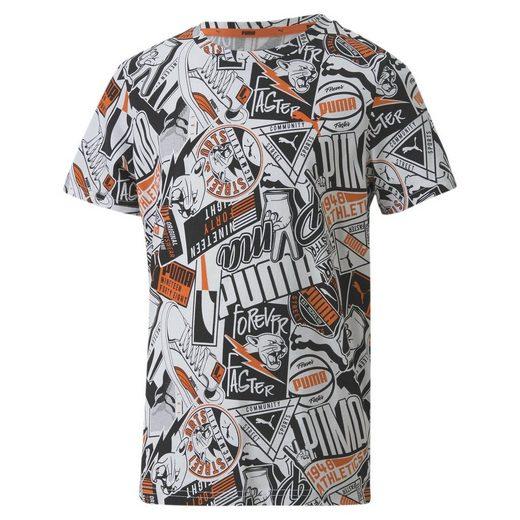 PUMA T-Shirt »Alpha Jungen T-Shirt«