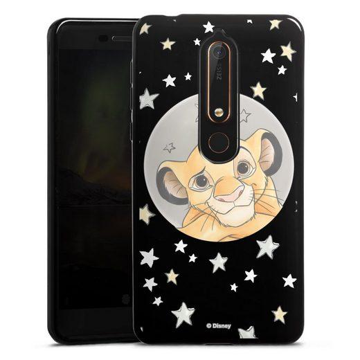 DeinDesign Handyhülle »Simba ohne Hintergrund« Nokia 6.1, Hülle Löwe Disney Offizielles Lizenzprodukt