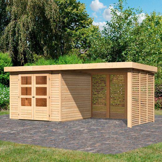 Karibu Gartenhaus »Arnis 3,5«, BxT: 529x262 cm, Set