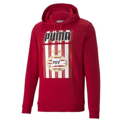 PUMA Sweater »PSV Eindhoven ftblCORE Herren Fußball Hoodie«