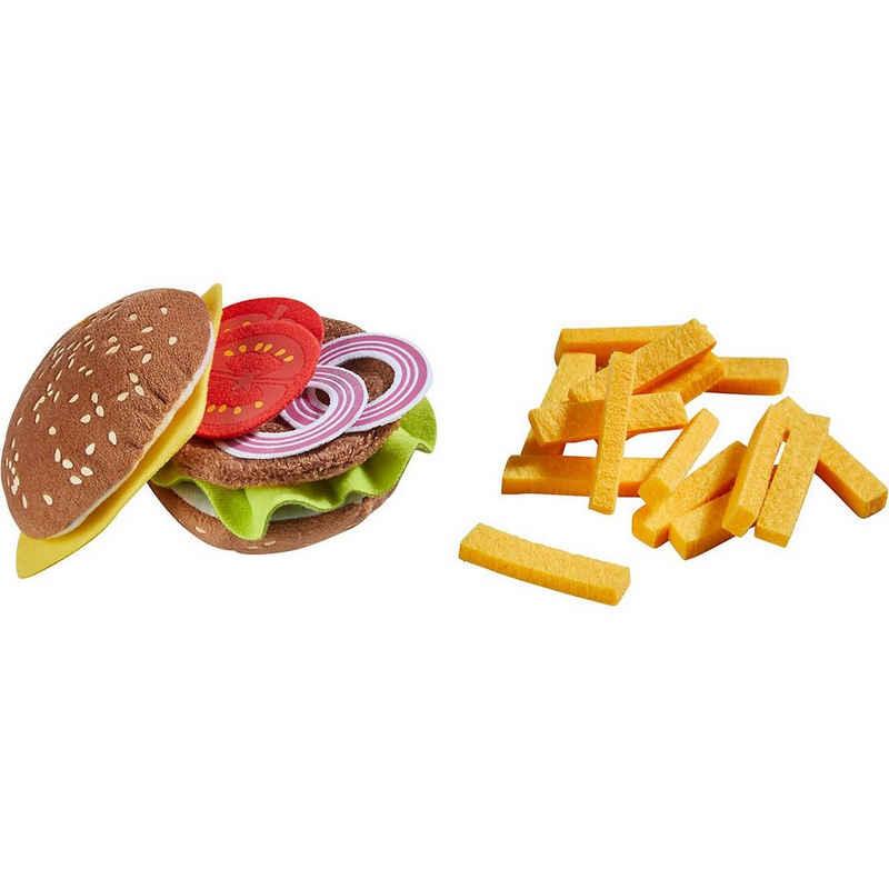 Haba Spiellebensmittel »HABA 305817 Burger mit Pommes frites«