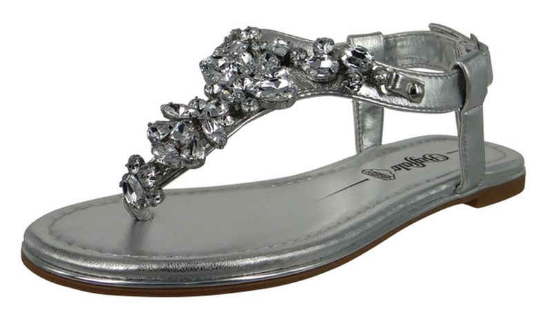 Buffalo »1600114 Rhonda Silver« Sandale