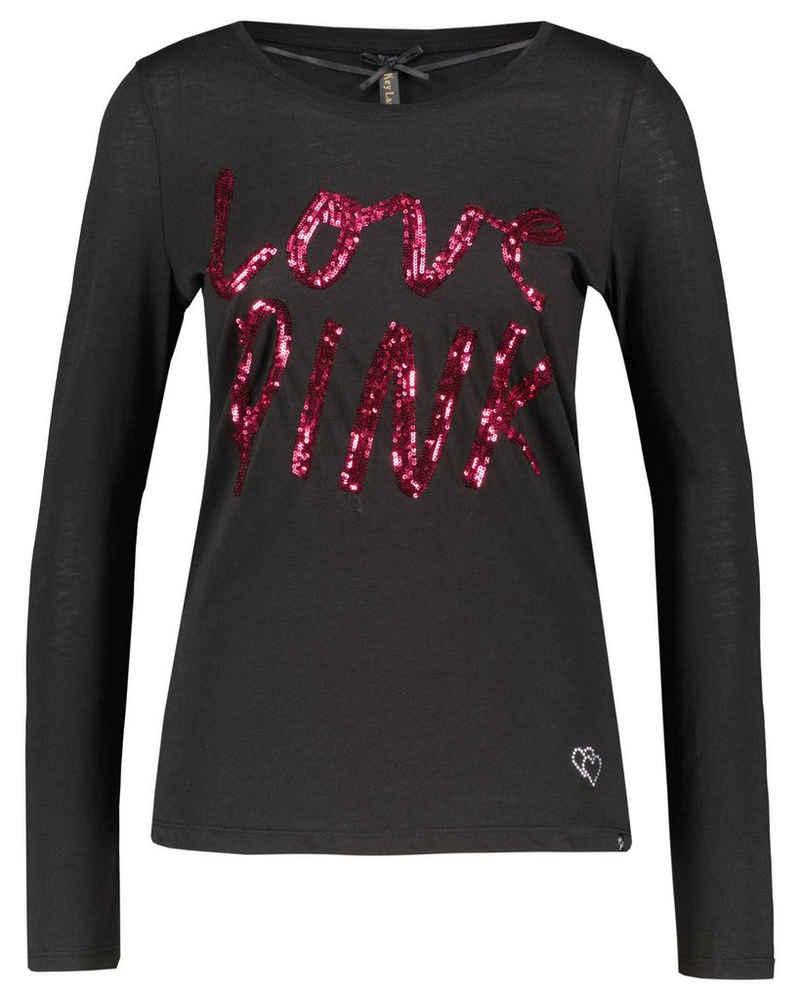 Key Largo T-Shirt »Damen Langarmshirt WLS PINK ROUND«