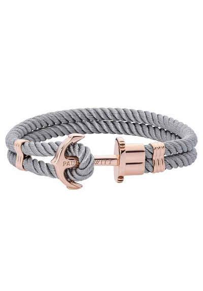 PAUL HEWITT Armband »Anker, PHREP IP, PH-PH-N-R-Gr-S, PH-PH-N-R-Gr-L«