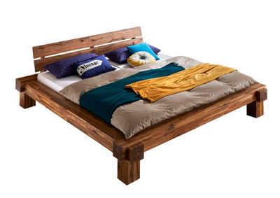 SAM® Holzbett »Elke«, aus massiver Akazie