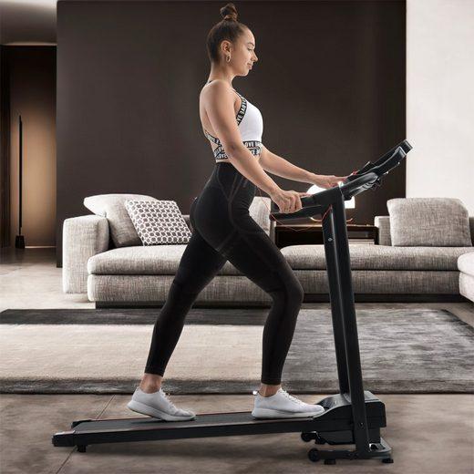 Vaxiuja Laufband »Faltbare Laufband-Laufmaschine mit Versprechungen für Heimgymnastik-Fitness«, USB &AUX