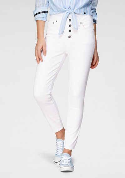 H.I.S 7/8-Jeans »Skinny BUTTON FLY« Nachhaltige, wassersparende Produktion durch OZON WASH