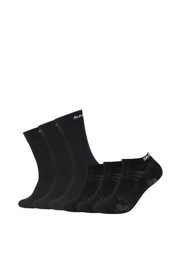 Skechers Socken (6-Paar) im sportlichen Design