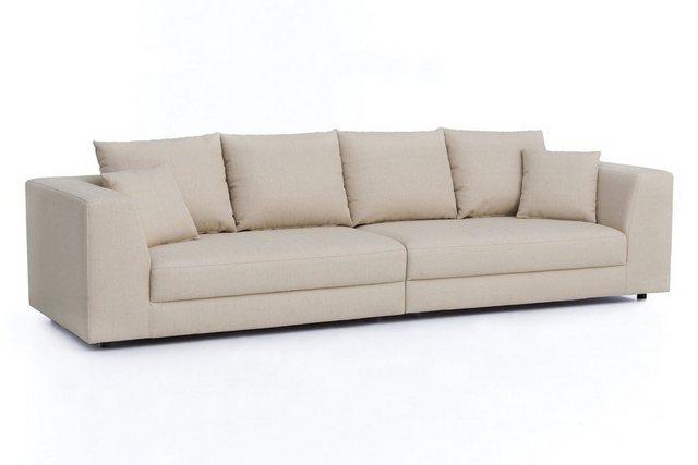 Sofas - KAWOLA Sofa »MERA«, Big Sofa XXL Stoff verschiedene Farben  - Onlineshop OTTO