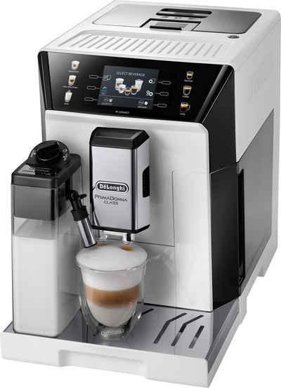 De'Longhi Kaffeevollautomat PrimaDonna Class ECAM 550.65.W, weiß
