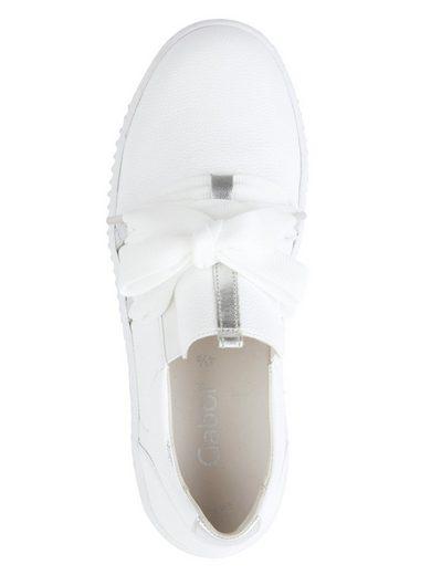 GABOR Sneaker Materialmix aus Leder online kaufen