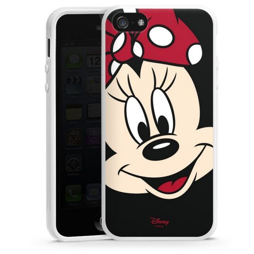 DeinDesign Handyhülle »Minnie All Over« Apple iPhone 5s, Hülle Minnie Mouse Disney Offizielles Lizenzprodukt
