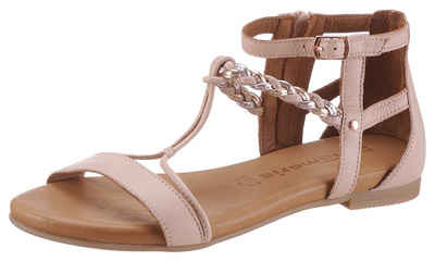 Tamaris »Kim« Sandale mit geflochtenem Riemchen