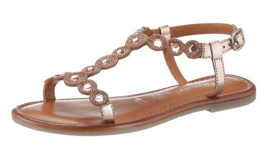Tamaris »MILOS« Sandale mit aufwendiger Verzierung