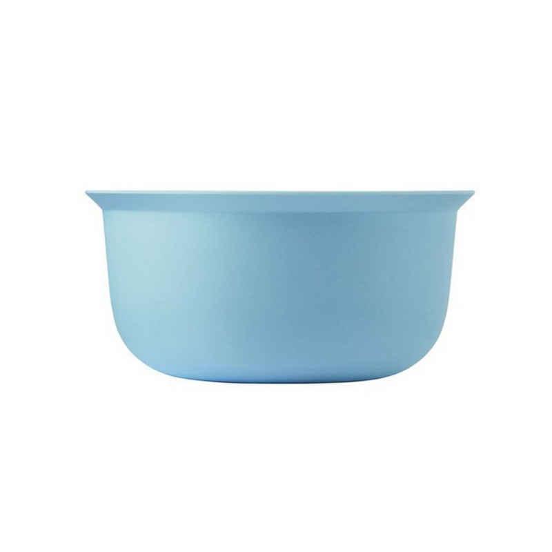 Stelton Schale »RIG-TIG Rührschüssel 3.5 l hellblau«, Bambus/Melamin