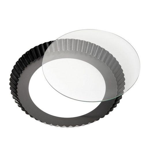 Neuetischkultur Backform »Tarteform mit Glas-Hebeboden BAKE ONE«, (1-tlg), Backzubehör