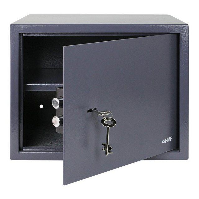 HMF Möbeltresor »Doppelbartschloss«, Safe, 38 x 30 x 30 cm, Anthrazit
