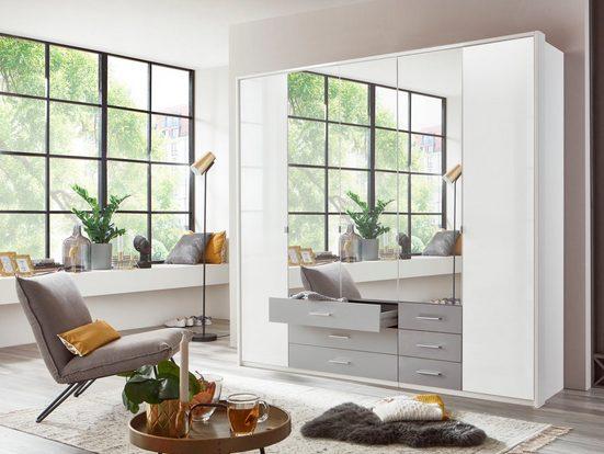 Wimex Drehtürenschrank »Sumatra« mit Lacktüren und Spiegel