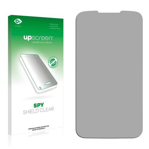 upscreen Schutzfolie »für Huawei Ascend Y200«, Folie Schutzfolie Sichtschutz klar anti-spy