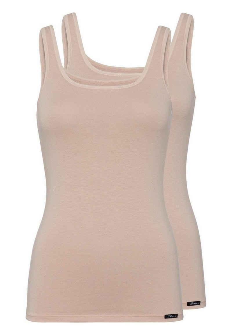 Skiny Unterhemd »Damen Tank Top, 2er Pack - Unterhemd, ärmellos,«