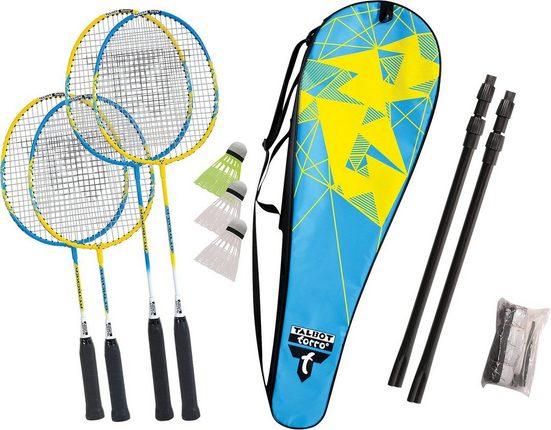 "Talbot-Torro Badmintonschläger »Talbot-Torro Badminton Set ""Family""«"
