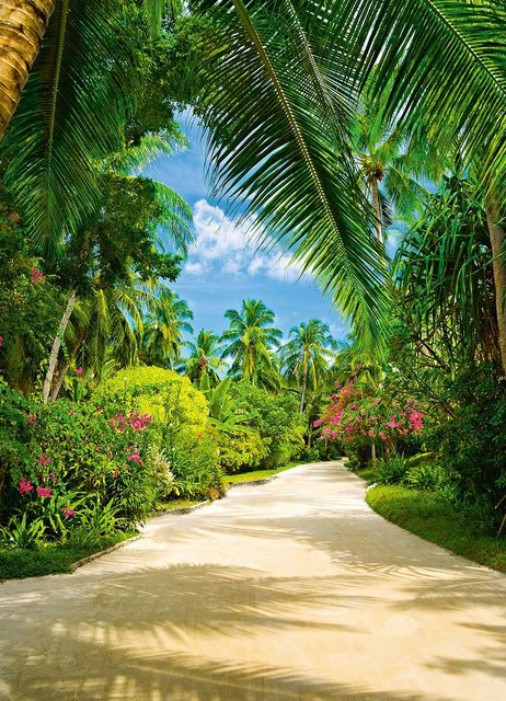 Home affaire Wandtapete, Tropical Pathway, 183/254 cm