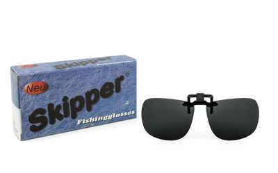 SKIPPER - polarized eyewear Sportbrille »2106-ap polarisierter Brillen-Clip«, polarisierte Gläser