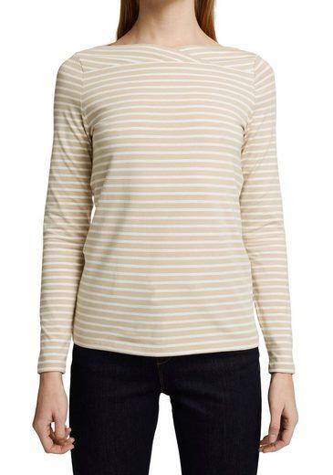Esprit Collection Langarmshirt im Streifen Look