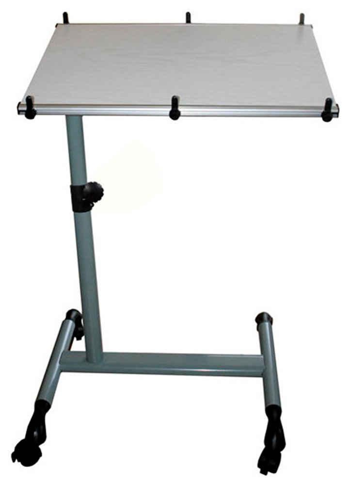 SoBuy Laptoptisch »FBT07N«, Pflegetisch Notebooktisch mit Stopper Betttisch Beistelltisch Sofatisch mit Rollen höhenverstellbar