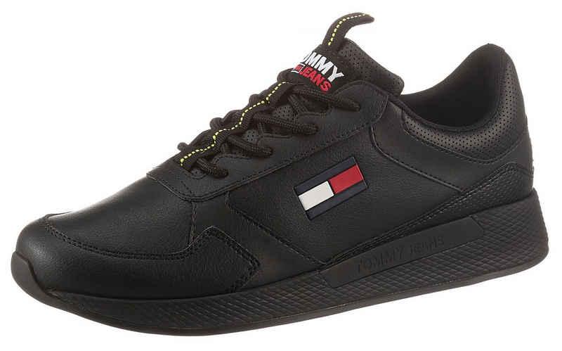 Tommy Jeans »FLEXI LEATHER TJM RUNNER« Sneaker mit Logoflag