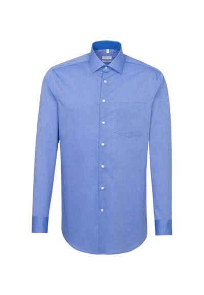 seidensticker Businesshemd »Regular« Regular Langarm Kentkragen Uni