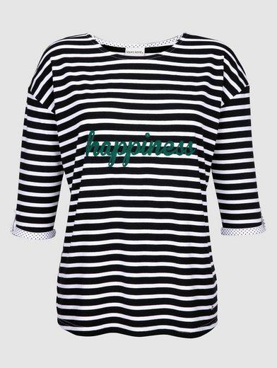Laura Kent Shirt in sportivem Streifendessin