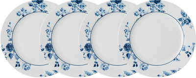 LAURA ASHLEY BLUEPRINT COLLECTABLES Dessertteller »China Rose«, (4 Stück), Porzellan, 20 cm