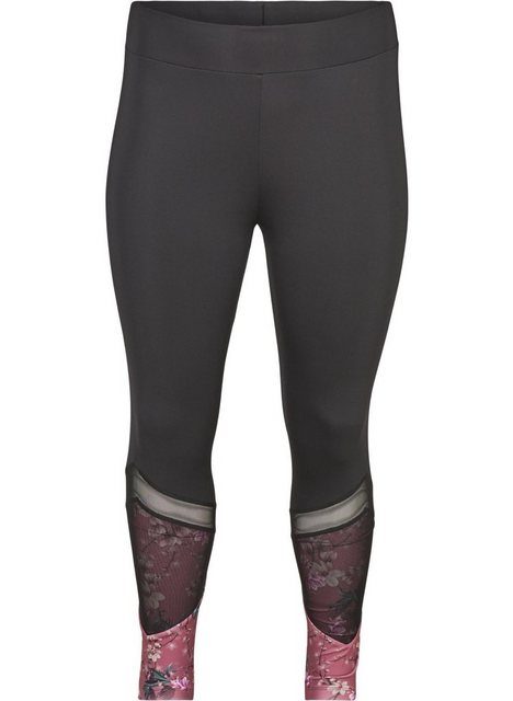 Hosen - Active by ZIZZI Trainingstights Große Größen Damen 7 8 Trainingsleggings mit Print und Stretch ›  - Onlineshop OTTO