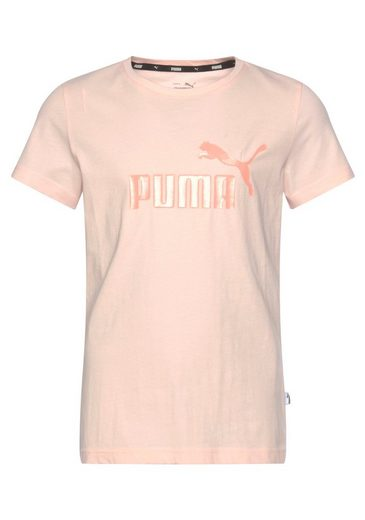 PUMA T-Shirt »ESSENTIAL Logo Tee Girls«