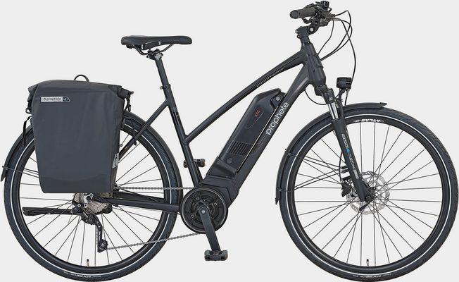 E-Bike »Prophete PowerEdition Damen«, 10 Gang Shimano Deore XT Schaltwerk, Kettenschaltung, Mittelmotor 250 W