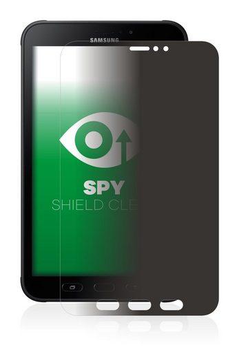 upscreen Schutzfolie »für Samsung Galaxy Tab Active 2«, Folie Schutzfolie Sichtschutz klar anti-spy