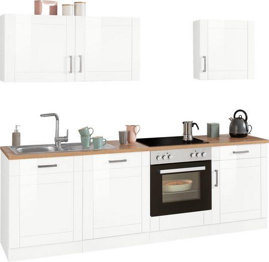 HELD MÖBEL Küchenzeile »Tinnum«, ohne E-Geräte, Breite 240 cm
